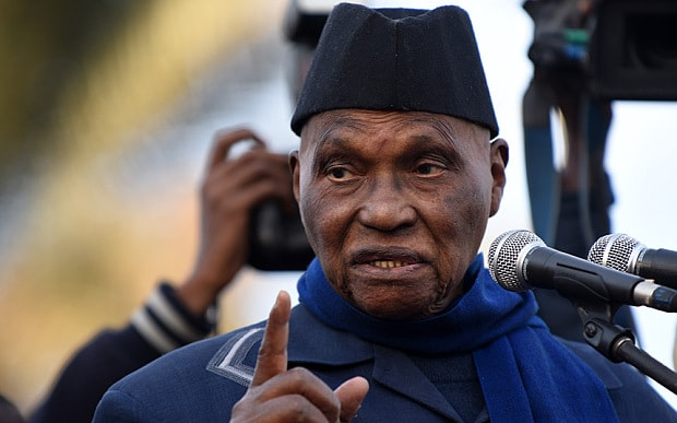 Nonagenarian Abdoulaye Wade is running for president again in Senegal