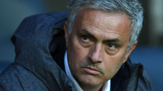 Jose Mourinho in file photo from 24 May