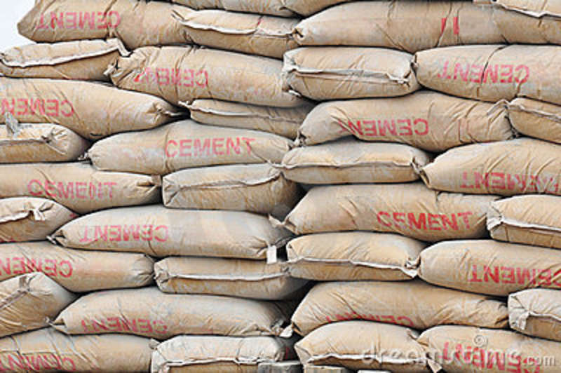 Bags of cement now for the rich?