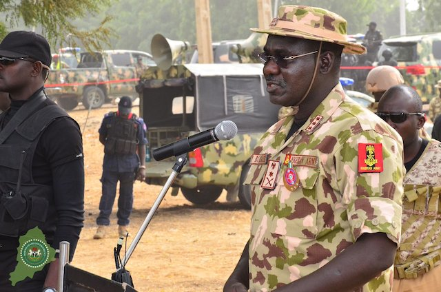 Chief of Army Staff Lt. Gen. Tukur Buratai