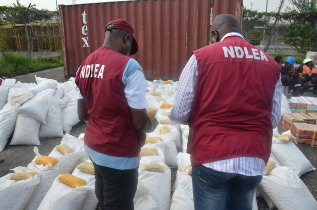 NDLEA officials at work